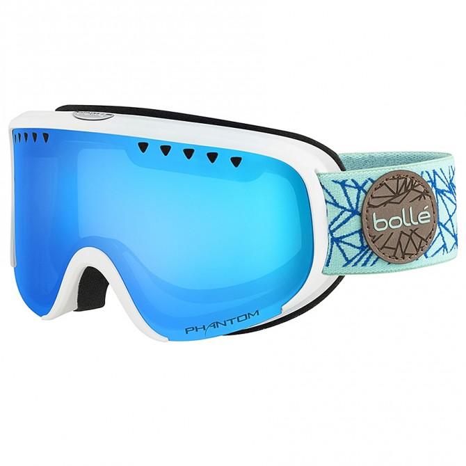 Ski goggle Bollé Scarlett white-blue