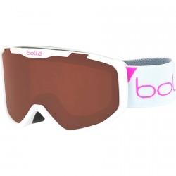 Ski goggle Bollé Rocket white-bronze