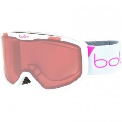 Ski goggle Bollé Rocket white-vermilion