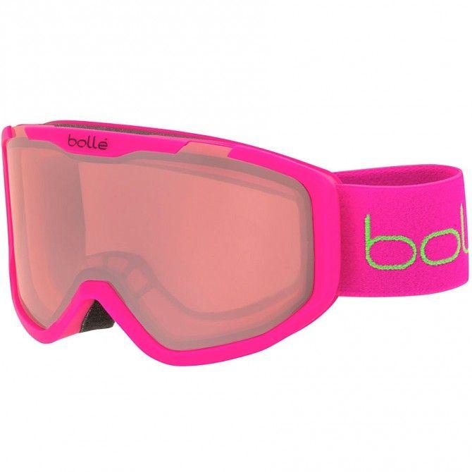 Máscara esquí Bollé Rocket rosa-vermillon