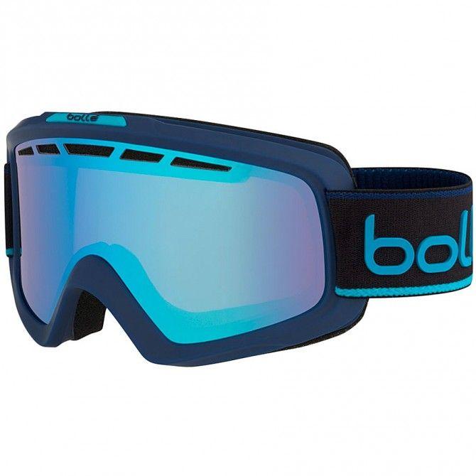 Maschera sci Bolle Nova II navy-blu neon