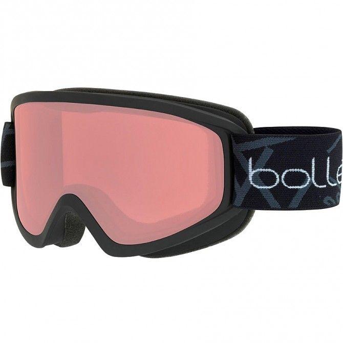 Masque ski Bollé Freeze noir-vemillion