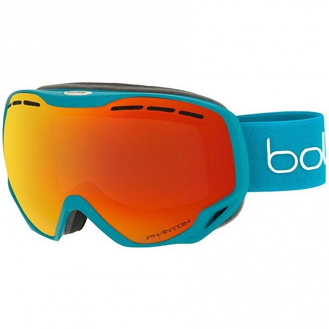 Masque ski Bollé Emperor bleu-rouge