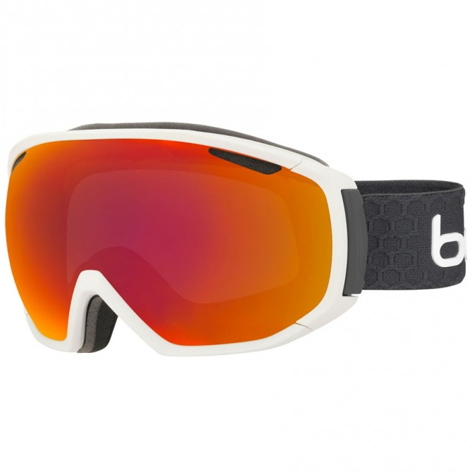 Masque ski Bollé Tsar blanc