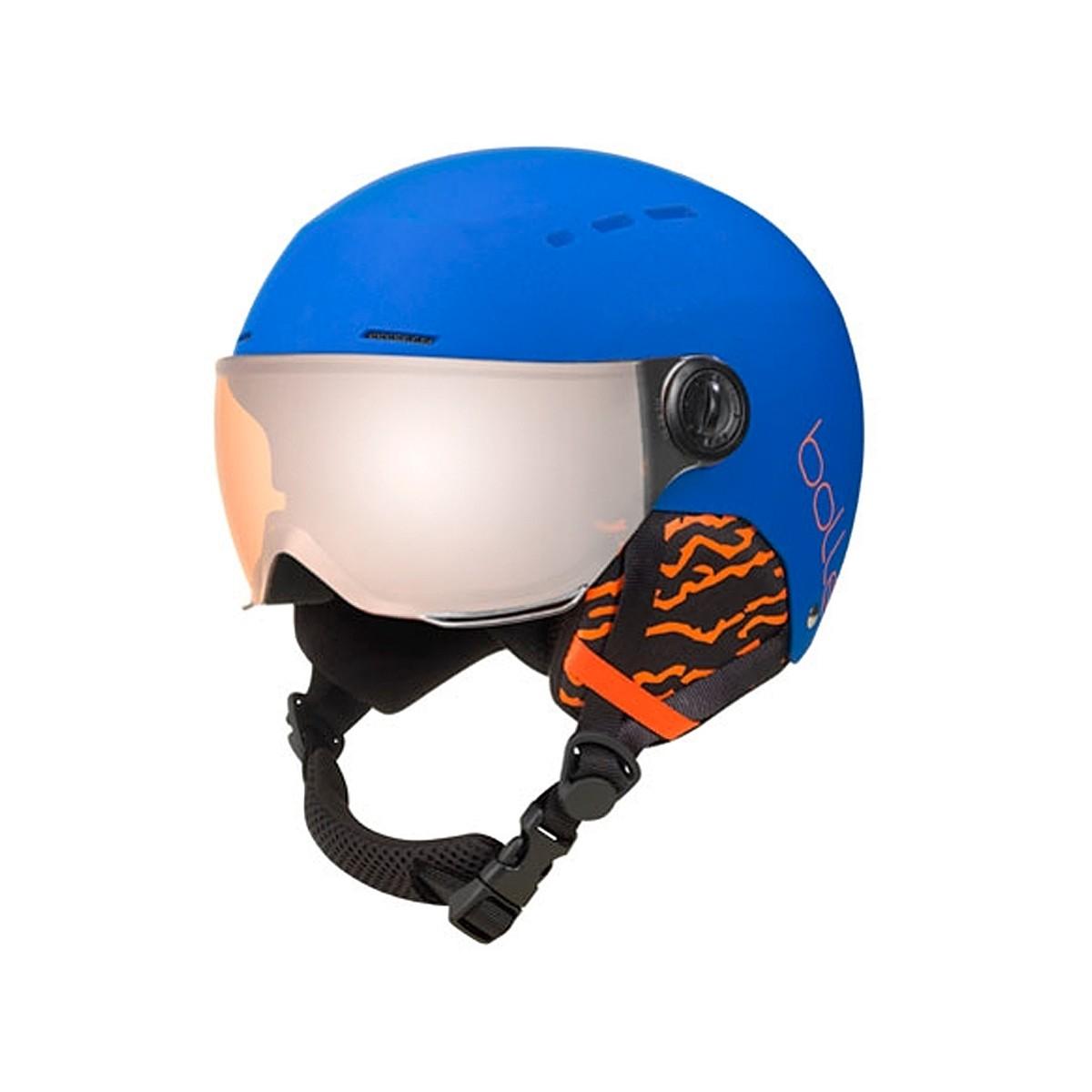 Casco Sci Bollè Quiz visor (Colore: blu-bianco-arancio, Taglia: 49/52)