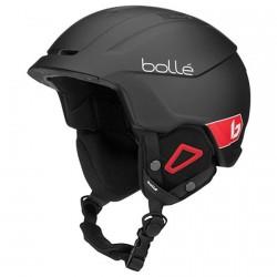 Casco esquí Bollé Instinct negro-rojo