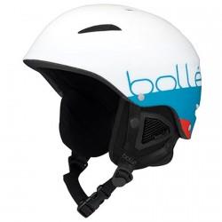 Casco Sci Bollè B-Style MATTE WHITE BLUE