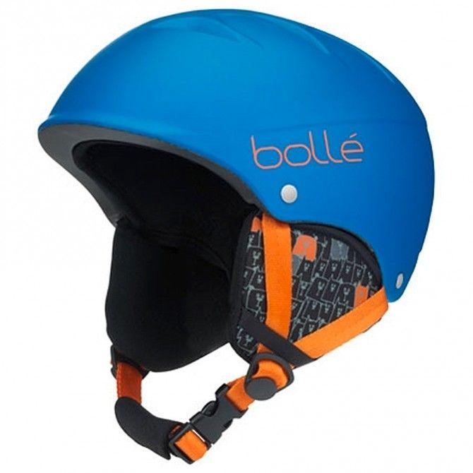 Casco sci Bolle B-Free blu-arancio