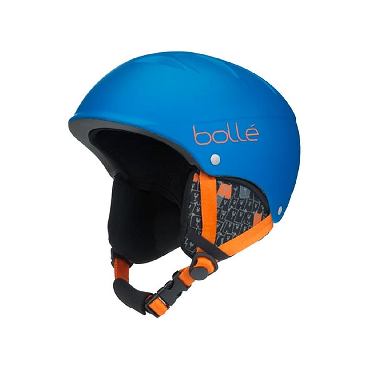 Casco sci Bolle B-Free (Colore: blu-arancio, Taglia: 49/53)