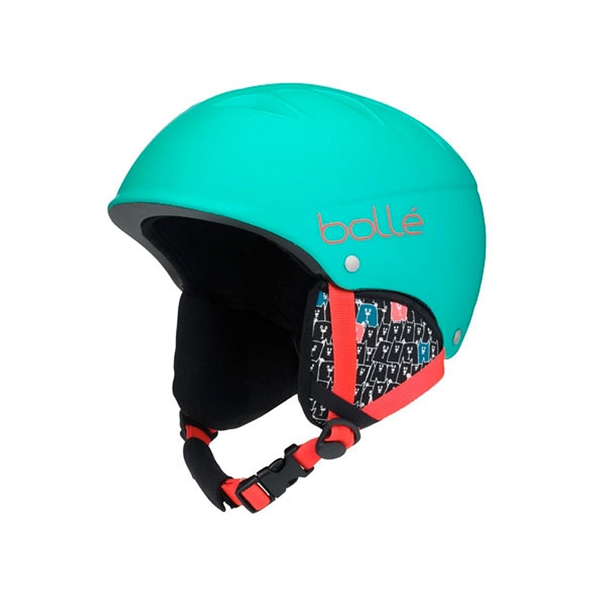 Casco sci Bollé B-Free (Colore: verde menta-rosso, Taglia: 49/53)