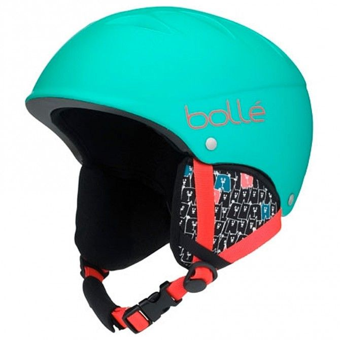 Casco Sci Bollè B-Free MATTE MINT ANIMALS