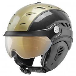 Ski helmet Slokker Bakka Visor gold-black