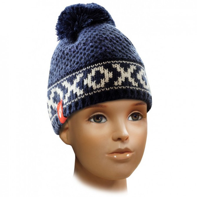 cappello Ledrapo Jacquard Junior