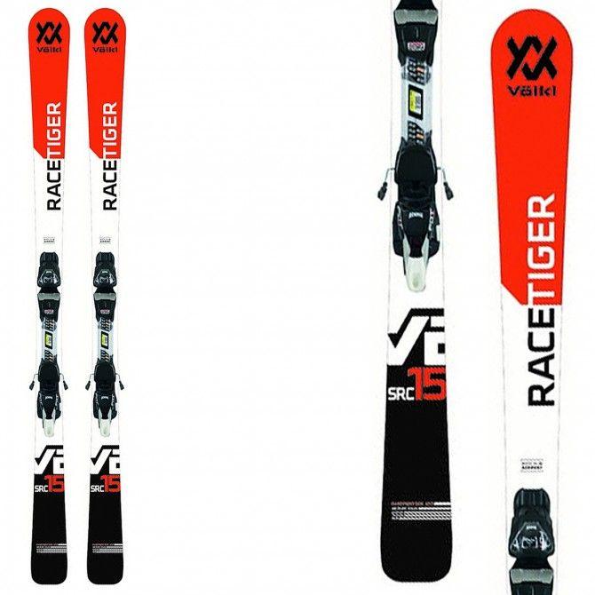 Ski Volkl Racetiger SRC + bindings VMotion 11