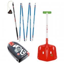 Kit Arva probe + shovel + arva Evo 4 NO BOCARD
