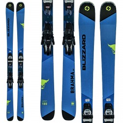 Ski Blizzard Brahma Sp + fixations TCX 11 Demo 90