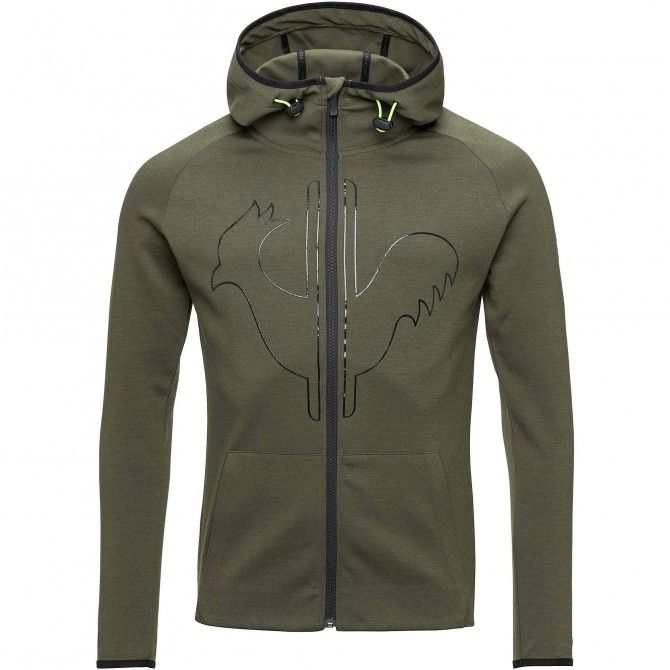 Polaire Rossignol Lifetech Zipped Hoody Homme