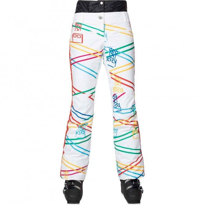 Pantalones ski JC De Castelbajac Hurons Print Femme