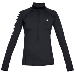 Suéter running Under Armour ColdGear Armour Graphic 1/2 Zip Mujer