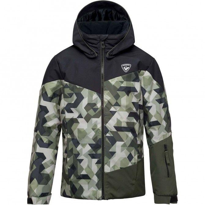 fcb0f1f00b6a Ski jacket Rossignol Print Ski Ski Junior - Ski clothing