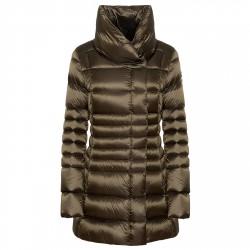 Long down jacket Colmar Originals Place Woman green
