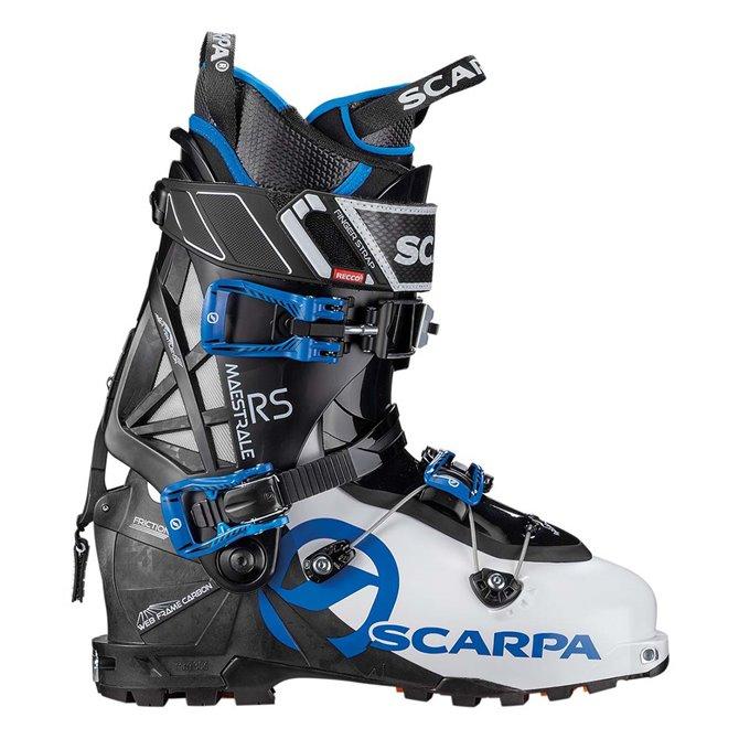 Scarponi sci alpinismo Scarpa Maestrale bianco-nero-lime