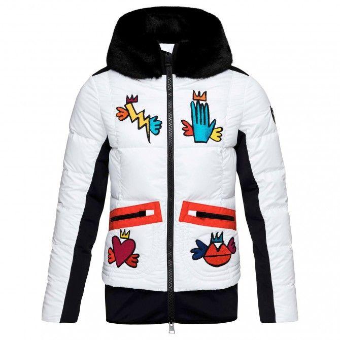 Ski jacket Rossignol Yakima Bomber BG Woman - Ski clothing 75d4fb7e1cc