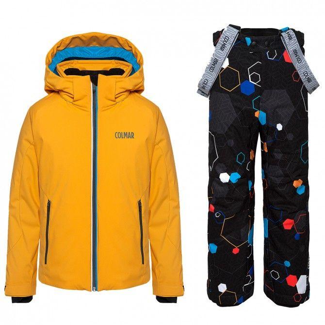 Completo sci Colmar Sapporo Bambino arancione