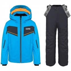 Completo sci Colmar Sapporo Bambino azzurro-grigio
