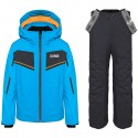 Ski suit Colmar Sapporo Boy light blue-grey