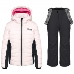 Ski suit Colmar Ecovail Girl pink-grey