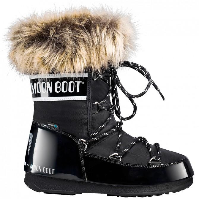 Après ski Moon Boot W.E. Monaco Low Wp Woman white
