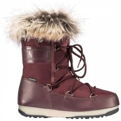 Après ski Moon Boot W.E. Monaco Low Wp Mujer blanco