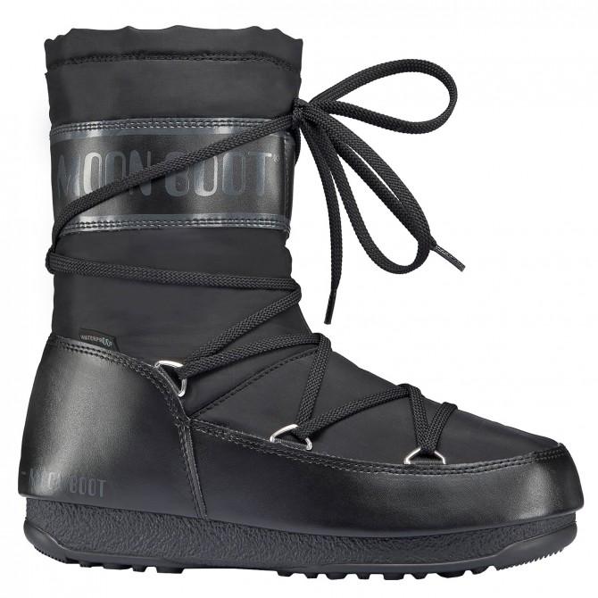Après ski Moon Boot W.E. Shade Mid Wp Mujer negro