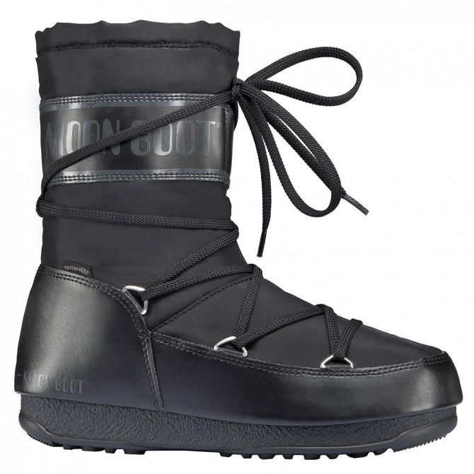Doposci Moon Boot W.E. Shade Mid Wp Donna nero MOON BOOT Doposci donna