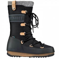 Après ski Moon Boot W.E. Monaco Felt Mujer marrón