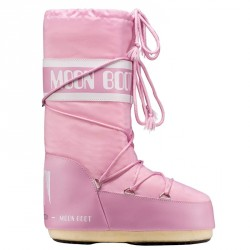 Après-ski Moon Boot Nylon Junior rose (23-26)