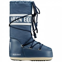 Après-ski Moon Boot Nylon Junior bleu