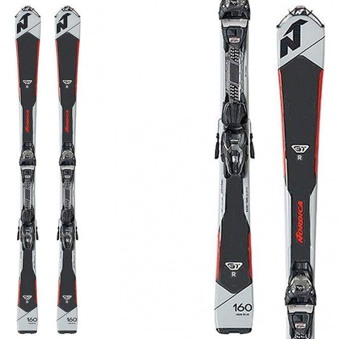 Ski Nordica Gt R Evo + fixations N Adv P.R. Evo