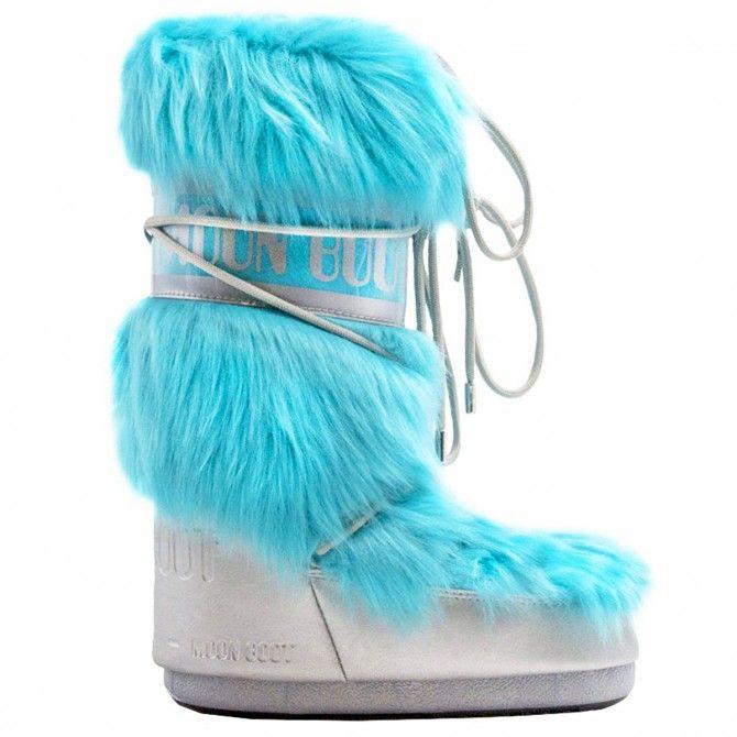 Après-ski Moon Boot CL Premium Pop Fur Woman