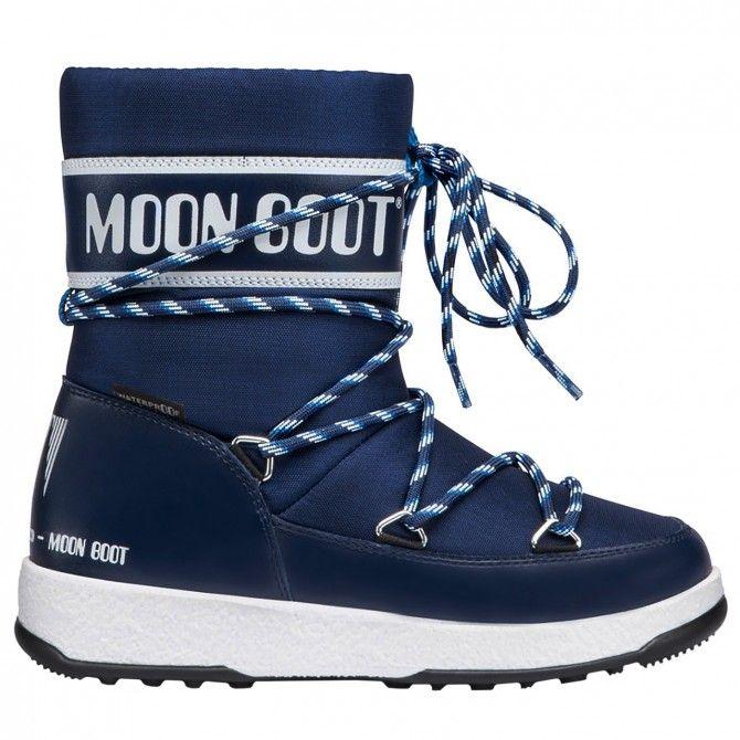 Doposci Moon Boot W.E. Sport Jr Wp Junior (36-38) MOON BOOT Doposci bambino