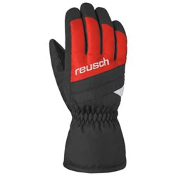 Guanti Sci Reusch Bennet R-TEX® XT Junior rosso-nero