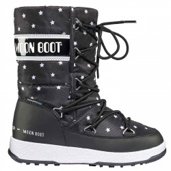 Après-ski Moon Boot Quilted Star Wp Girl (30-35)
