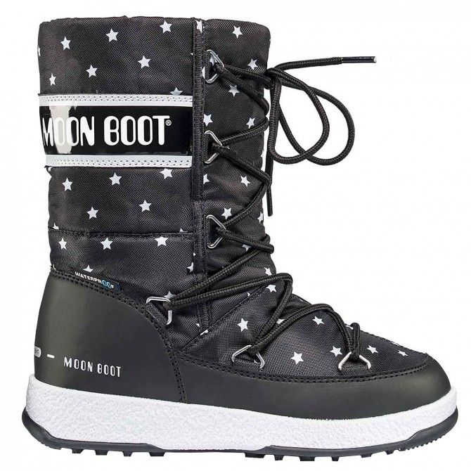 Doposci Moon Boot Quilted Star Wp Girl (30-35) MOON BOOT Doposci bambino