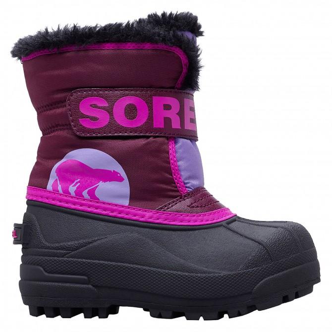 Après-ski Sorel Commander Junior violet (21-24)