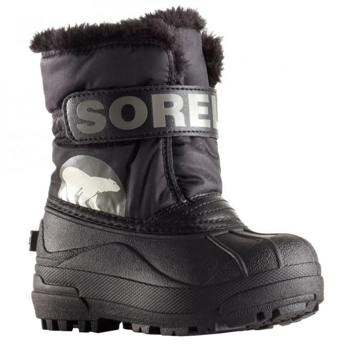 Après-ski Sorel Commander Junior gris-negro (25-31)