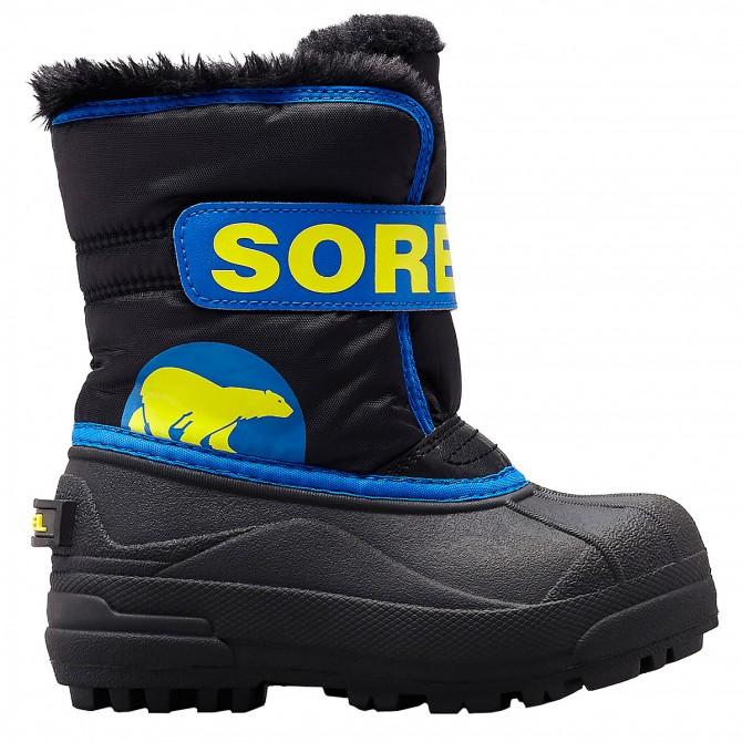 Après-ski Sorel Commander Junior azul-negro (25-31)