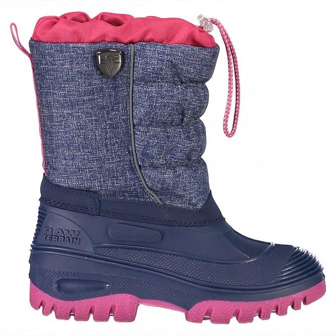 Après-ski Cmp Hanki Mel Junior blue-pink (33-40)