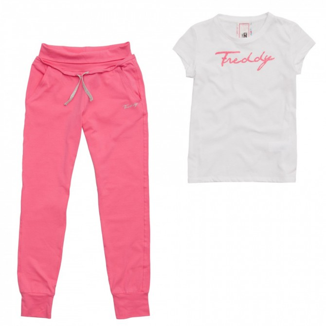 completo Freddy Spice Girl pantalone + t-shirt