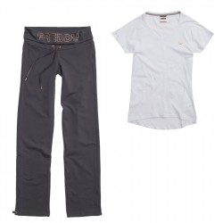 suit Freddy Yoga fit pants + t-shirt woman